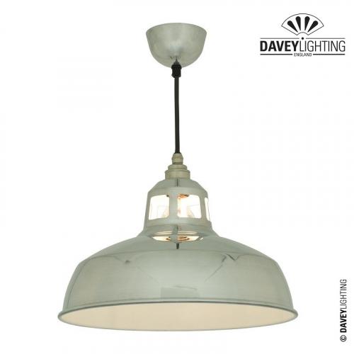 Aluminium Punch Pendant Light 7199 by Davey Lighting