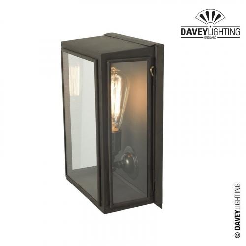 Box Wall Light Medium Externally Glazed 7641 by Davey Lighting