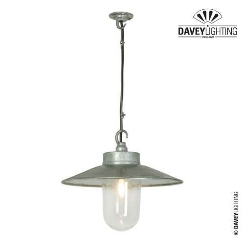 Ceiling Pendant 7680 Galvanized by Davey Lighting