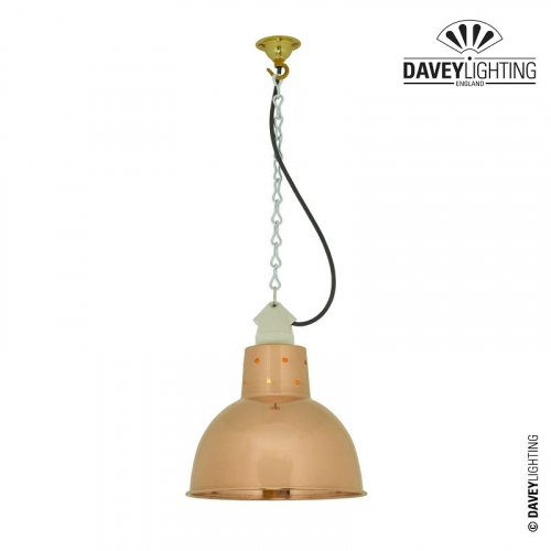 Pendant 7165 Polished Copper by Davey Lighting