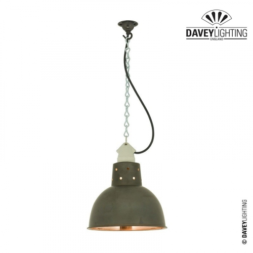 Pendant 7165 Weathered/Polished Copper by Davey Lighting