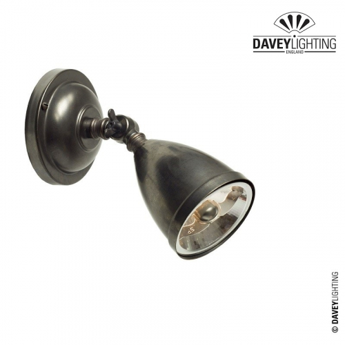 Spot Light 0762 Weathered Brass (230v) by Davey Lighting