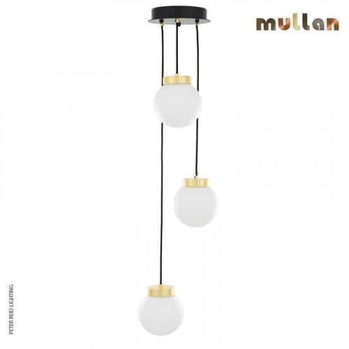 Agusta 3 Globe Chandelier by Mullan Lighting