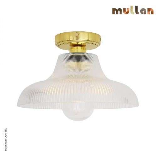 Aquarius Bathroom Ceiling Light 30cm IP65 by Mullan Lighting