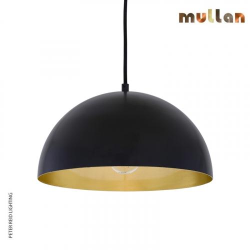 Avon Brass Dome Pendant 40cm by Mullan Lighting