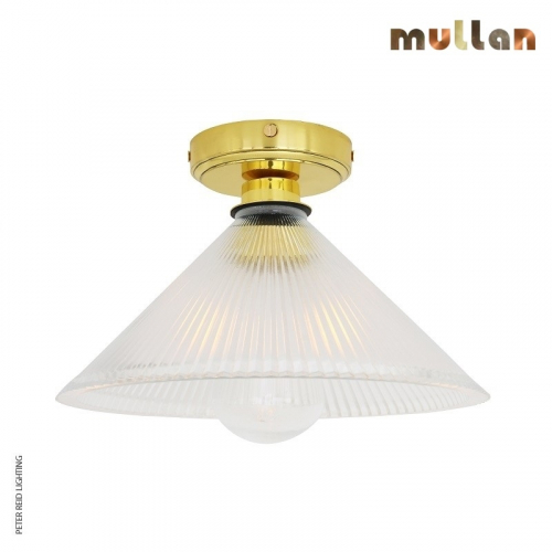 Beck Bathroom Ceiling Light IP65 by Mullan Lighting