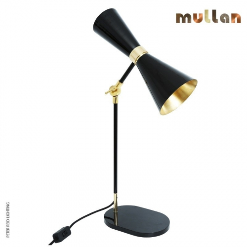 Cairo Contemporary Table Light by Mullan Lighting