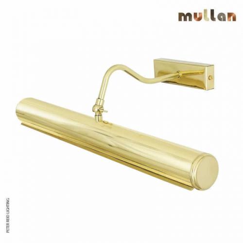 Dublin Brass Picture Light 50.5cm by Mullan Lighting