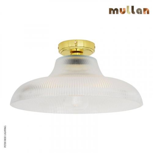 Aquarius Bathroom Ceiling Light 40cm IP65 by Mullan Lighting