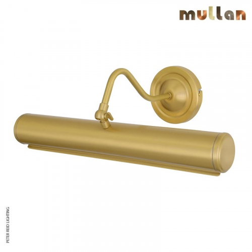 Elle Solid Brass Picture Light 35.5cm by Mullan Lighting