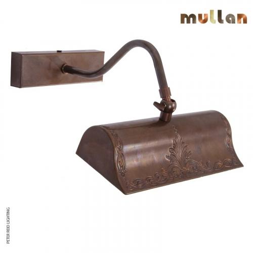 Spence Cast Brass Picture Light 19.5cm by Mullan Lighting