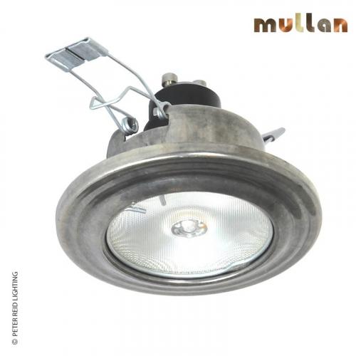 Lefkosia Brass Recessed Spot Light 8cm by Mullan Lighting
