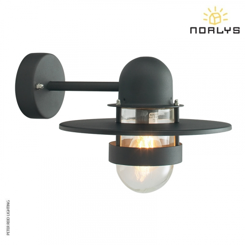 Bergen Wall Black by Norlys
