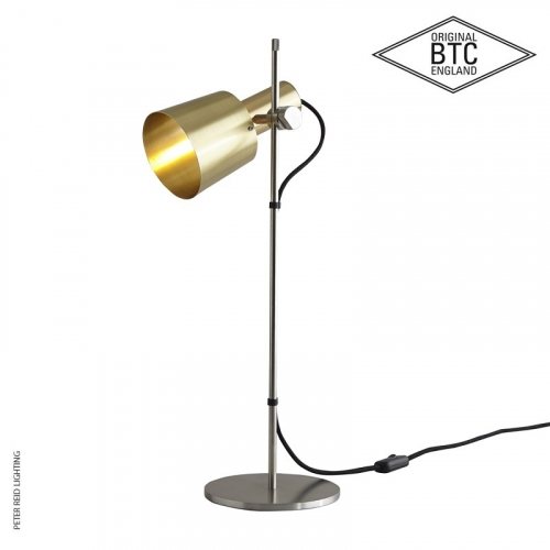 Chester Table Light Satin Brass by Original BTC