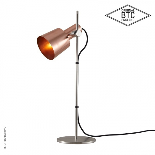 Chester Table Light Satin Copper by Original BTC