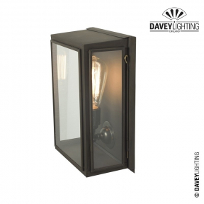 Box Wall Light Medium Externally Glazed 7641 by Davey Lighting
