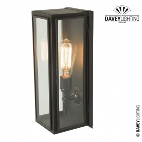 Box Wall Light Narrow Externally Glazed 7649 by Davey Lighting