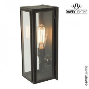 Box Wall Light Narrow Externally Glazed 7649 by Davey Lighting