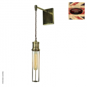 Alexander Adjustable Drop Wall Light by Limehouse Lamp Co