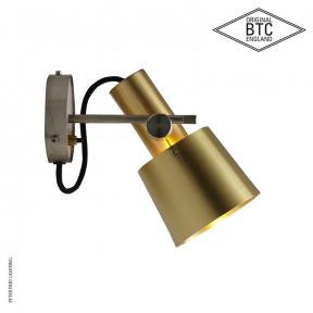 Chester Wall Light Satin Brass by Original BTC