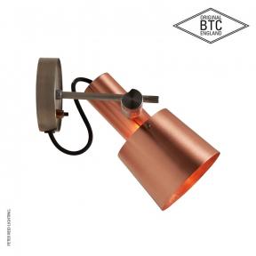 Chester Wall Light Satin Copper by Original BTC