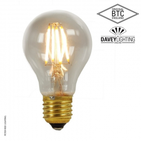 Original BTC E27 Dimmable 6 Watt Clear Glass Filament LED Bulb